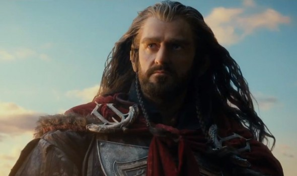 Richard Armitage as Thorin Oakenshield in 'The Hobbit: The Desolation of Smaug'. Photo Credit: Warner Bros.