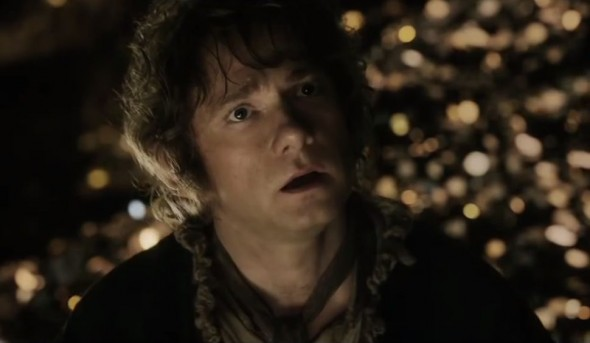 Martin Freeman as Bilbo Baggins in 'The Hobbit: The Desolation of Smaug'. Photo Credit: Warner Bros.