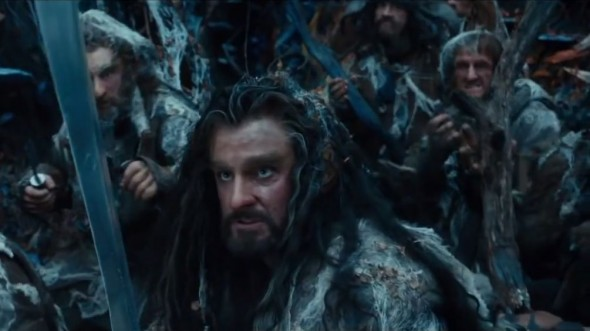 Richard Armitage as Thorin Oakenshield in 'The Hobbit: The Desolation to Smaug'. Photo Credit: Warner Bros.