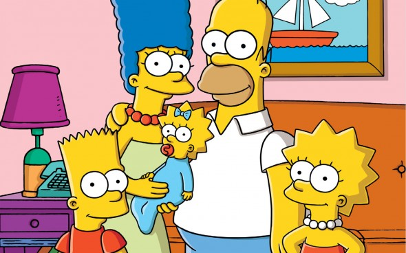 America's favorite animated family, The Simpsons. Photo Credit: Fox