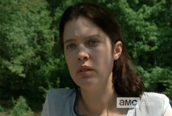 Audrey Marie Anderson as Lilly Chambler in Season 4 Episode 8, the midseason finale, of 'The Walking Dead' entitled 'Too Far Gone.' Photo Credit: AMC