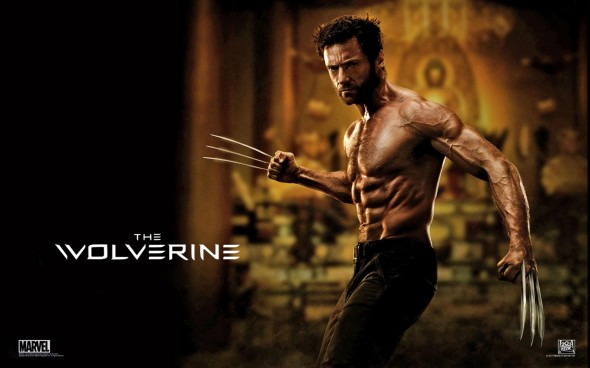 Hugh Jackman as Wolverine in a promo poster for 'The Wolverine.' Photo Credit: Marvel/20th Century Fox