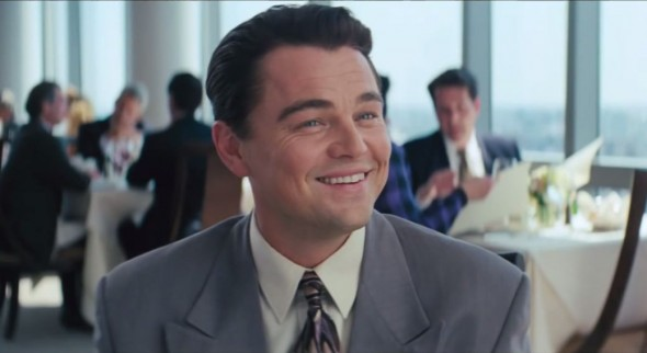 Leonardo DiCaprio as Jordan Belfort in 'The Wolf of Wall Street'. Photo Credit: Paramount Pictures