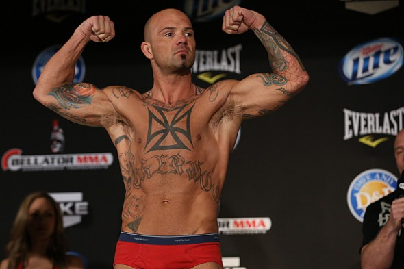Doug Marshall at the Bellator 92 weigh ins. Photo Credit: Dave Mandel-Sherdog