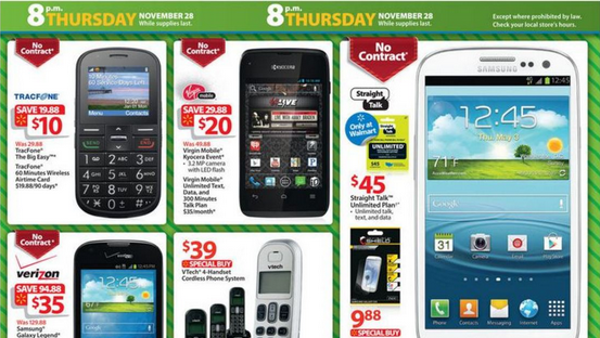 Photo via the 2013 Walmart Black Friday ad