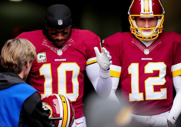 Robert Griffin Iii Says He Never Feared Losing Redskins Qb