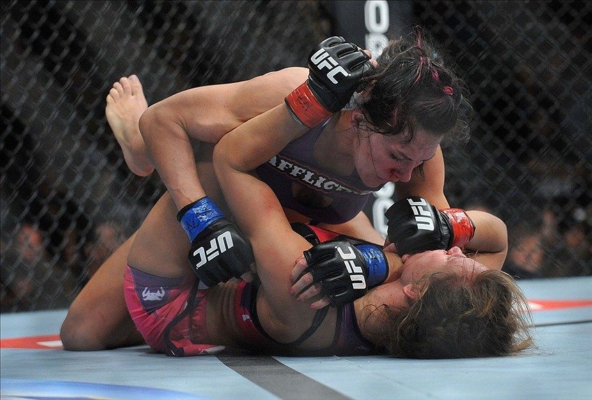 Cat Zingano ready to return and face Rousey vs. Tate winner