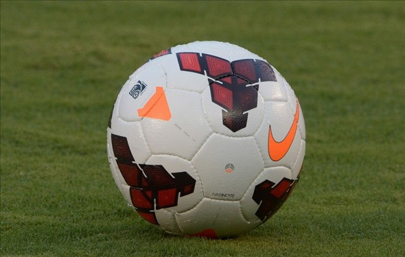 Jul 5, 2013; San Diego, CA, USA; General view of a Nike soccer balls during a friendly between Guatemala and the United States at Qualcomm Stadium. Mandatory Credit: Kirby Lee-USA TODAY Sports