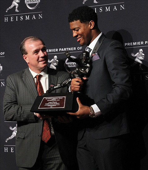 heisman trophy acceptance speech Jameis winston heisman trophy acceptance address delivered 14 december 2013, new york, new york first and foremost i just want to thank god and the heisman trustees.
