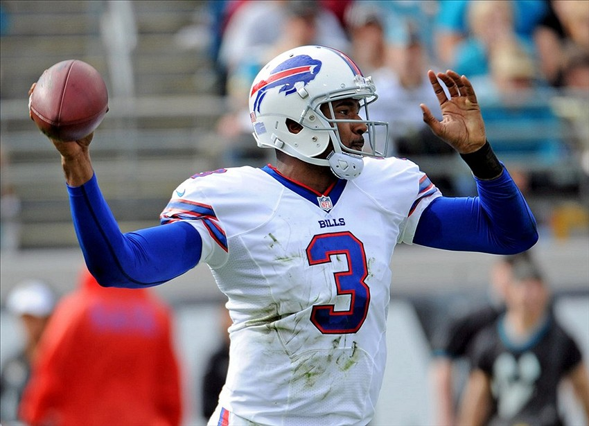 Bills E.J. Manuel, Stevie Johnson, Aaron Williams out for Dolphins game