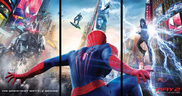 New Triptych Poster for 'The Amazing Spider-Man 2' Photo Credit: Sony Pictures