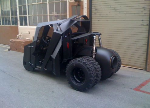 This Batmobile golf cart sold on eBay for $17,500. Photo Credit: eBay