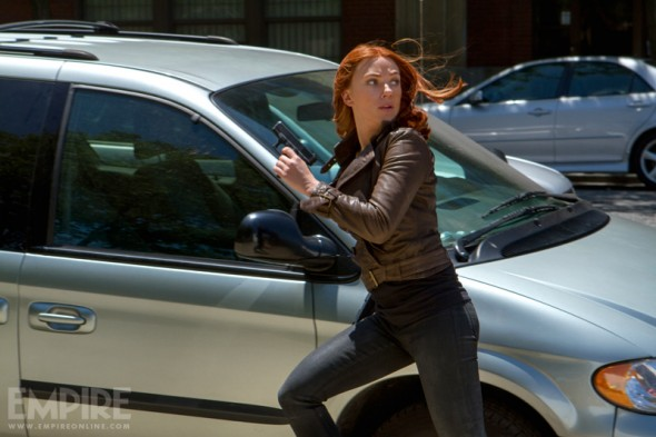 "Scarlett Johansson as Natasha Romanoff, aka Black Widow in ""Captain America: The Winter Soldier."" Photo Credit: Empire Magazine"