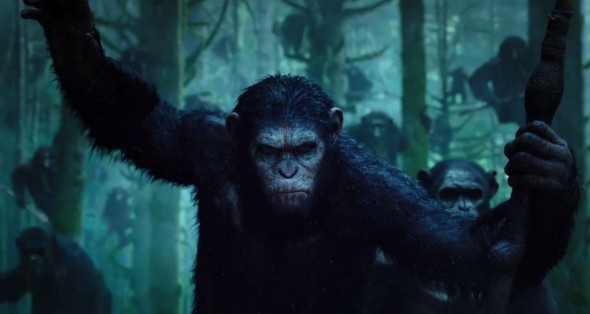 "A look at Caesar from Dawn of the Planet of the Apes."" Photo Credit: Fox"