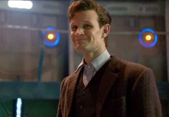 "Matt Smith's final moments as the Eleventh Doctor in the ""Doctor Who"" Christmas Special entitled ""The Time of the Doctor."" Photo Credit: BBC"