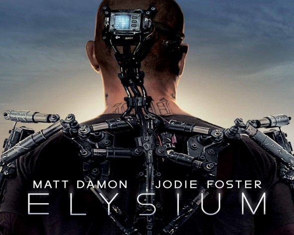 "Promo Poster for the film ""Elysium"". Photo Credit: TriStar"