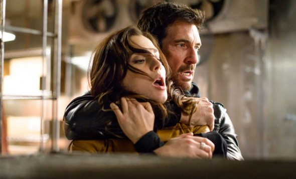 "Dylan McDermott and Yuliya Snigir in the film ""Freezer"". Photo Credit: Anchor Bay Films"