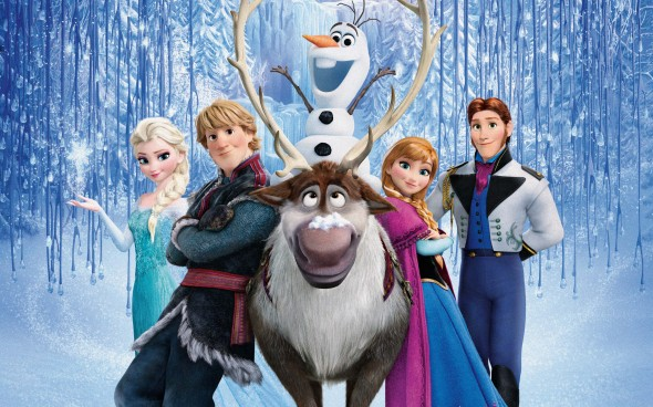 Promotional Poster for the film 'Frozen'. Photo Credit: Disney