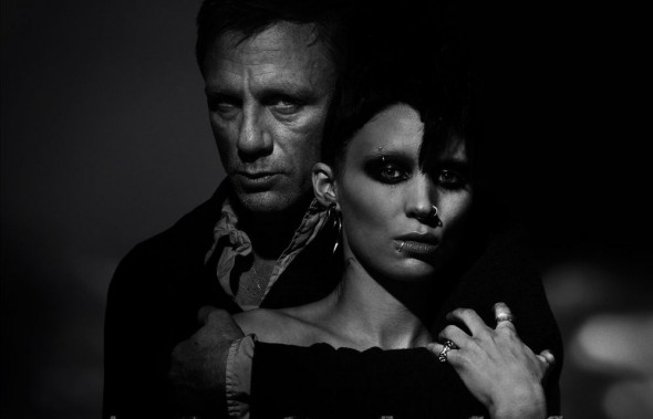 "Daniel Craig and Rooney Mara as Mikael Blomkvist and Lisbeth Salander in the U.S. version of the film ""The Girl With the Dragon Tattoo."" Photo Credit: Sony Pictures"