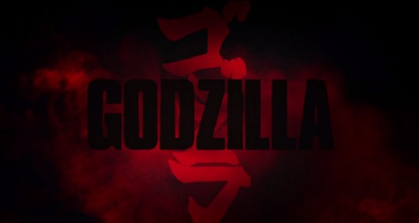 Title Card for the film Godzilla. Photo Credit: Warner Bros.