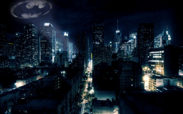 Artist rendering of Gotham City. Photo Credit: superglamorous on Deviant Art