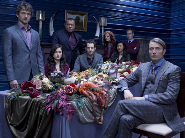 "Cast of the hit NBC TV series ""Hannibal."" Photo Credit: NBC"
