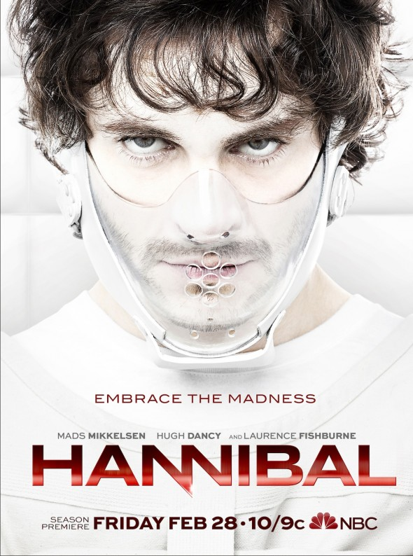 "Promo Poster for the upcoming Season 2 of the series ""Hannibal."" Photo Credit: NBC"
