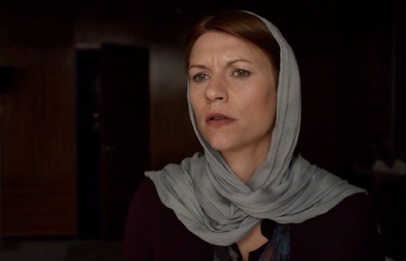 Claire Danes as Carrie Mathison in the Season 3 Finale of Homeland. Photo Credit: Homeland