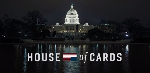 "Title Card for the Netflix Original Series ""House of Cards."" Photo Credit: Netflix"