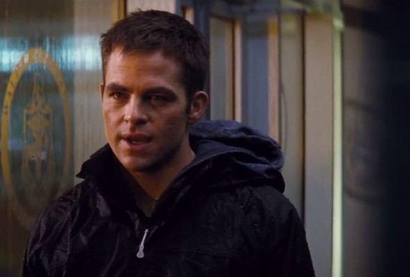 "Chris Pine as Jack Ryan in the film ""Jack Ryan: Shadow Recruit."" Photo Credit: Paramount Pictures"