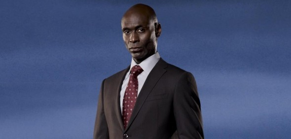 "Lance Reddick as Phillip Broyles on the hit Fox television series ""Fringe."" Photo Credit: Fox"