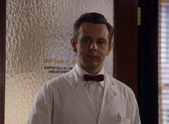 "Michael Sheen as Dr. William Masters in Season 1 Episode 11 of the Showtime Original Series ""Masters of Sex"" entitled 'Phallic Victories.' Photo Credit: Showtime"