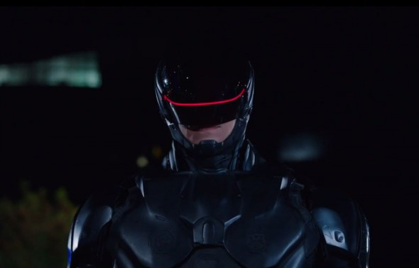 RoboCop in the newest PSA for the National Highway Traffic Safety Administration. Photo Credit: NHTSA