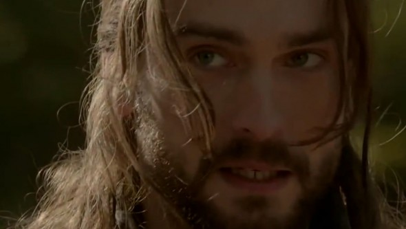 "Tom Mison as Ichabod Crane in Episode 10 of ""Sleepy Hollow"" entitled 'The Golem'. Photo Credit: Fox"