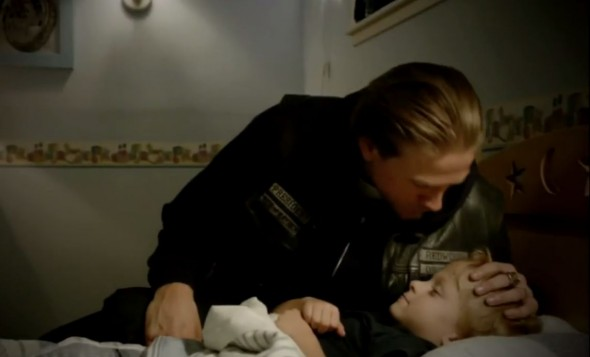 Charlie Hunnam as Jax Teller in the Season 6 Finale of 'Sons of Anarchy' entitled 'A Mother's Work'. Photo Credit: FX