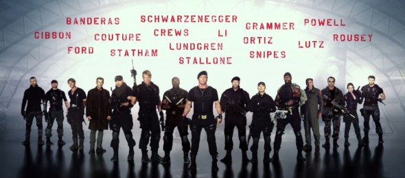 "The cast of ""The Expendables 3"". Photo Credit: Lionsgate"