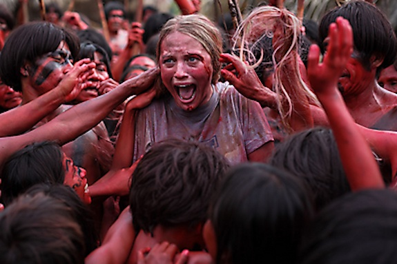 "Sky Ferreira as Kaycee in the film ""The Green Inferno."" Photo Credit: Open Road Films"