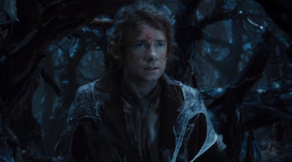 "Martin Freeman as Bilbo Baggins in the film ""The Hobbit: The Desolation of Smaug."" Photo Credit: Warner Bros."