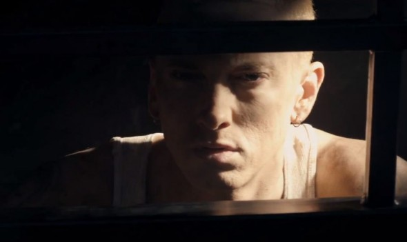 Eminem in his new music video 'The Monster' from 'MMLP2.' Photo Credit: Aftermath Records