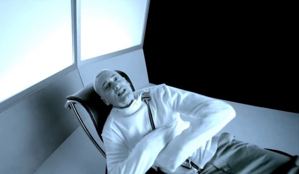 Eminem in his new music video for 'The Monster' from 'MMLP2.' Photo Credit: Aftermath Records