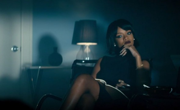 Rihanna in the new music video for Eminem's single 'The Monster' from 'MMLP2'. Photo Credit: Aftermath Records
