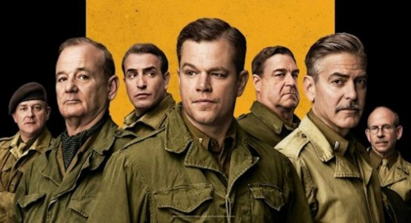 "Promo Poster for ""The Monuments Men."" Photo Credit: Sony Pictures Entertainment"