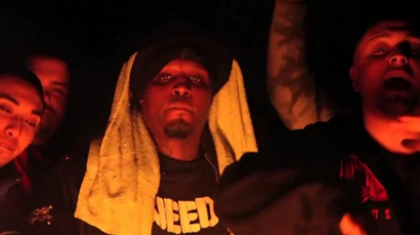 Lord Infamous in the video for 'Blazin' Kush' Photo Credit: YouTube/NICKBRAZINSKY