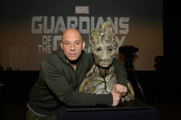 "Vin Diesel has officially been cast as the voice of Groot in Marvel's live-action epic ""Guardians of the Galaxy."" Photo Credit: Marvel"