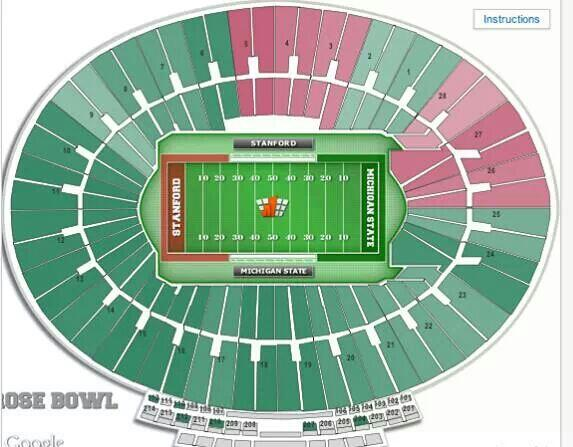 2014 Rose Bowl: Graphic shows a lot more Michigan State ...