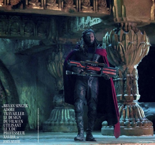 "Photo of Omar Sy as Bishop from the film ""X-Men: Days of Future Past."" Photo Credit: Studio Cine Live"