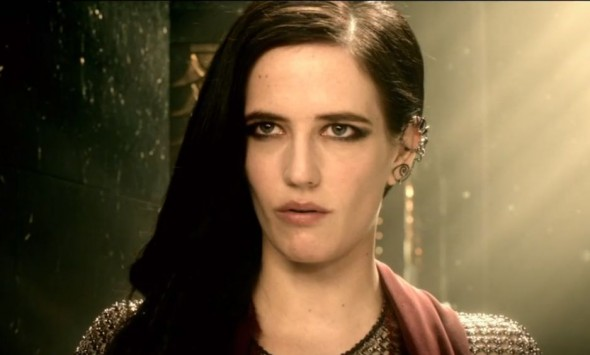 "Eva Green as Artemisia in the film ""300: Rise of an Empire."" Photo Credit: Warner Bros."