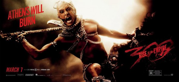 "Rodrigo Santoro as Xerxes in ""300: Rise of an Empire."" Photo Credit: Warner Bros."