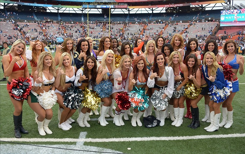 Nfl Announces 2014 Pro Bowl Cheerleaders Photos