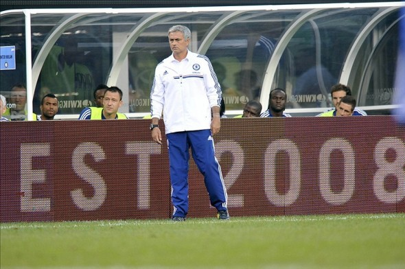 Chelsea head coach Jose Mourinho